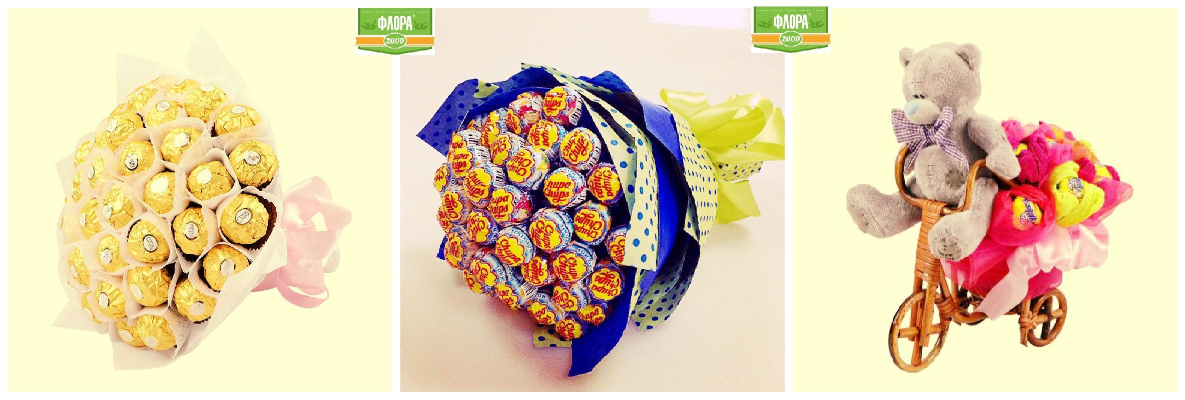 Букеты из конфет и как их сделать 99