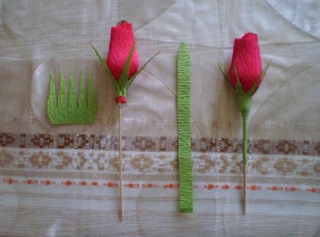 Мастер класс розы из бумаги с конфетами