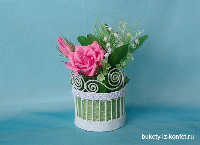 Бумажные вазы своими руками мастер класс