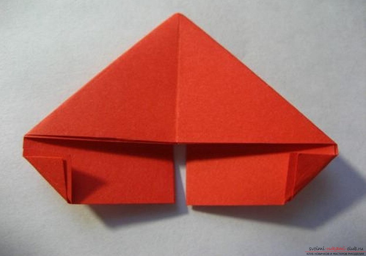 Как делать треугольник для поделки