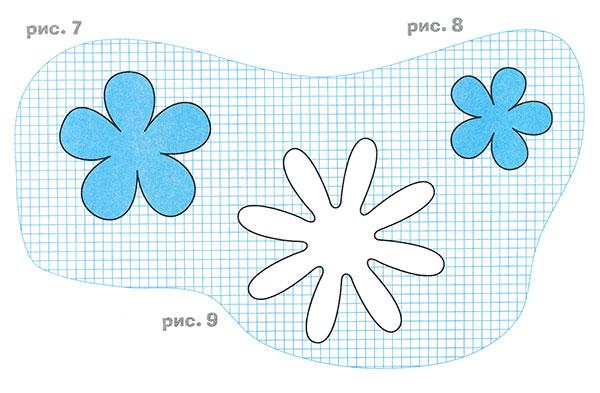 Как сделать цветы из бумаги своими руками для аппликации - Enote.ru