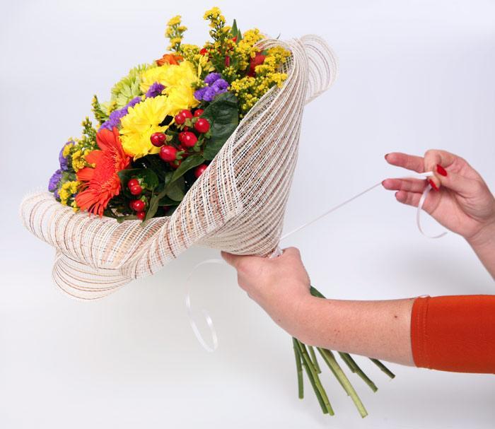Мастер классы по упаковке цветов