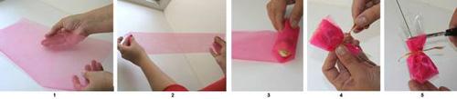 Как сделать конфеты из бумаги быстро