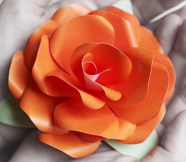 Цветок роза своими руками из бумаги своими руками