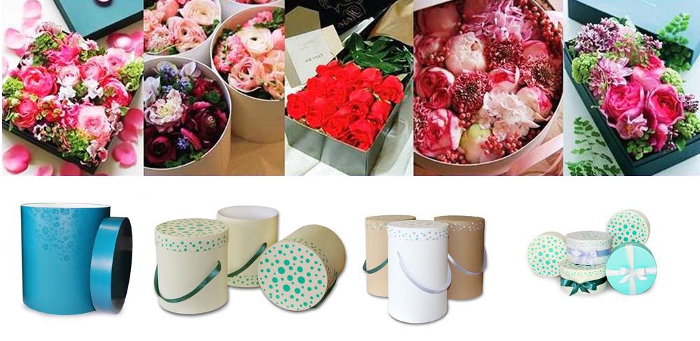 Коробки для цветов своими руками фото 93