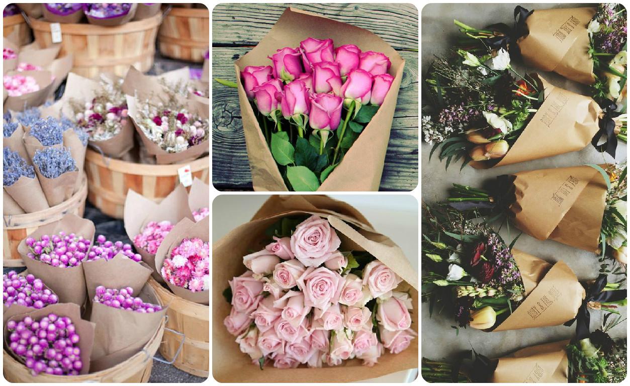 Мастер-класс упаковки цветов