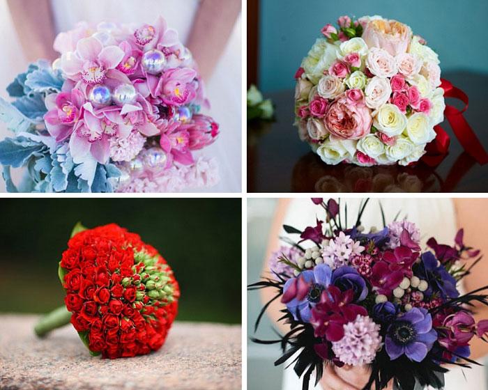 Свадебный букет своими руками из живых цветов пошагово