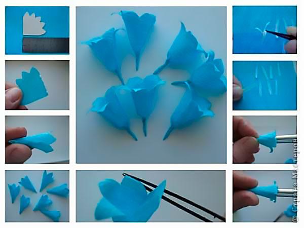 Поделки своими руками из гофрированной бумаги для детей