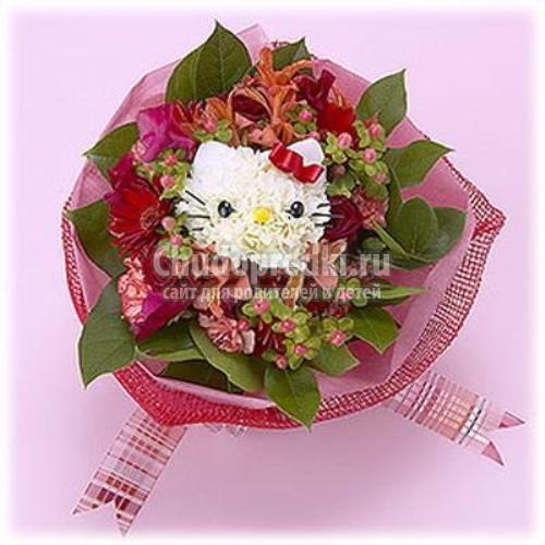 Букеты из цветов пошагово
