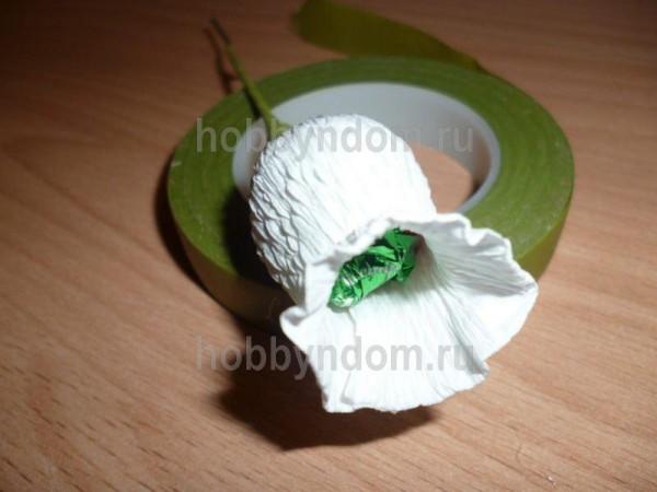 Цветок ландыш из бумаги своими руками 95