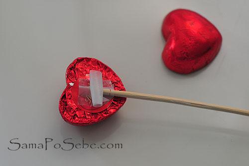 Сделать сердце из конфет мастер класс - Твой рабочий стол
