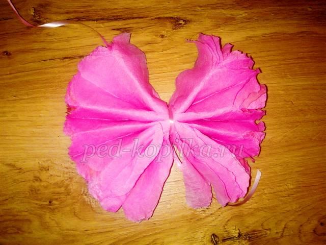 Как сделать цветы для танца из гофрированной бумаги
