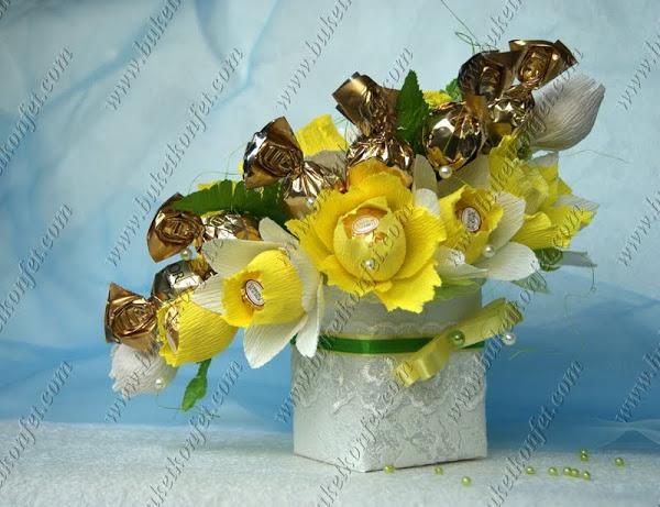 Конфета цветок своими руками мастер класс