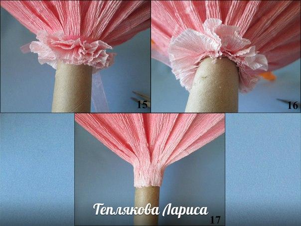 Как сделать каркас для букет из конфет и гофрированной бумаги