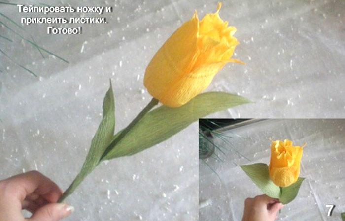Своими руками тюльпаны из конфет