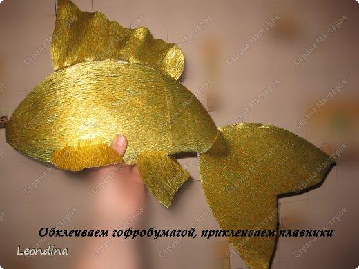 Рыбы из конфет своими руками